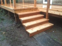 Cedar Deck (Before and After)
