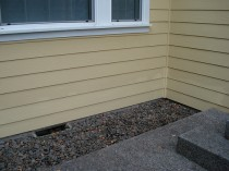 Repaired Exterior Siding