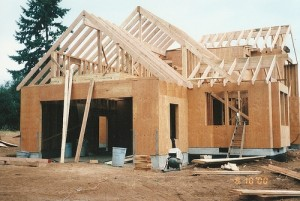 Bragg Construction Frames a New Home