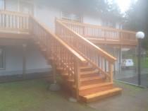 Clackamas Cedar Deck