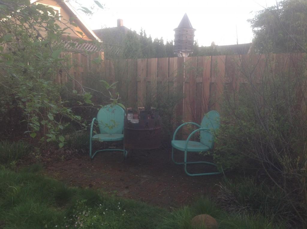 New cedar fence by Bragg Construction