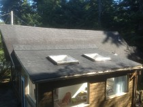 Leaky Skylight and Dryrotted Roof Repair