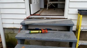 building a custom tapered cedar sill support