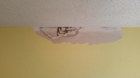 Drywall Repair Water Damage Remove Loose Material