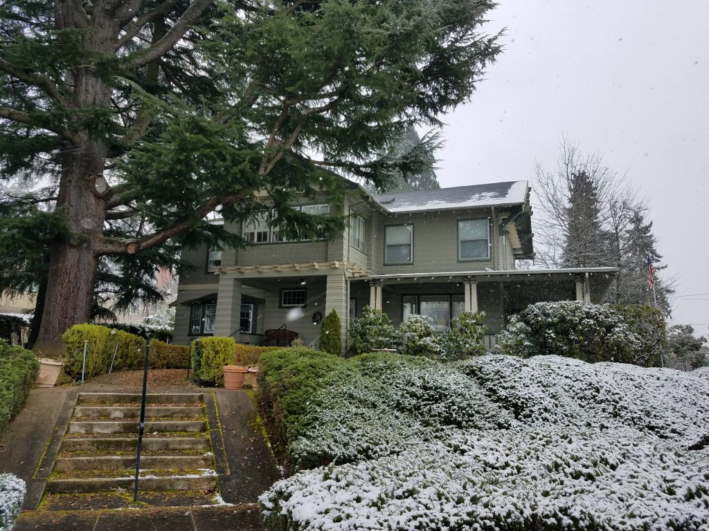 Historic home repair for a beautiful home in Portland's Historic Alameda Neighborhood