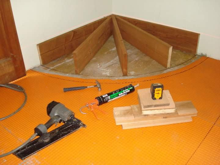 Hearth framing and installation tools